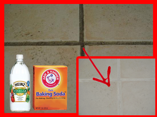 Amazing best waty to clean tile grout with homemade cleaner white vinegar and baking soda diy easy Pictures - Best of best way to remove tile grout Picture