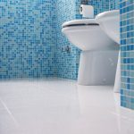 best way to clean tile grout clean sleek blue tile bathroom
