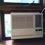 best window ac units installation wood window frames