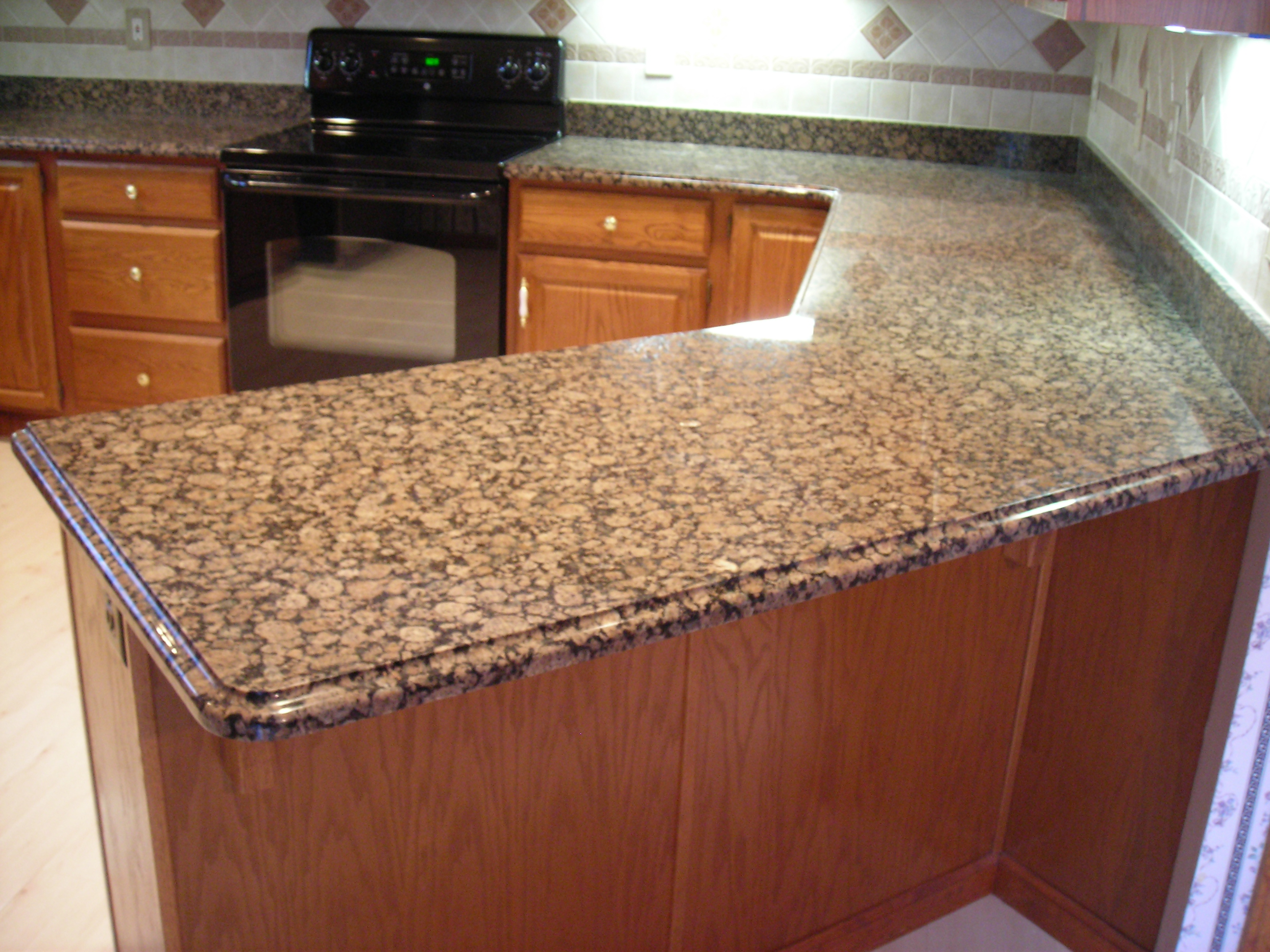 Countertop material options homesfeed Kitchen countertop ideas