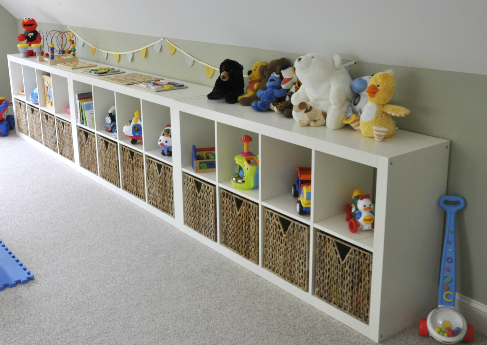 Superieur Bins Storage Basket Toys Dolls Rug