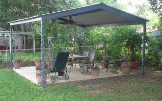 black metal freestanding backyard patio covers backyard gardening backyard relaxing space green backyard simple brown flower pots simple hanging fan