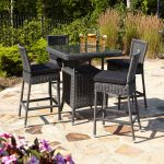 black rattan furniture idea as close out pieces