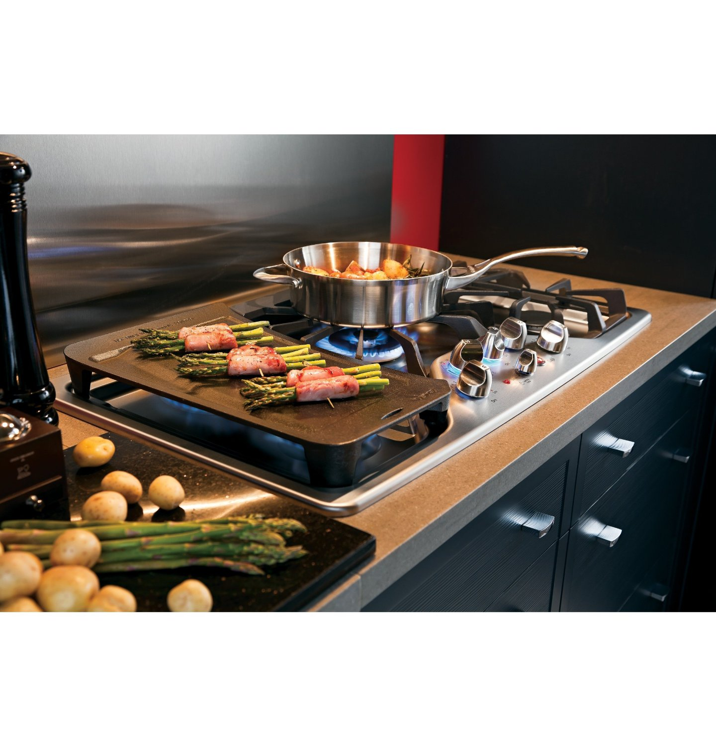 Simple Ideas About 30 Gas Cooktop With Downdraft Homesfeed