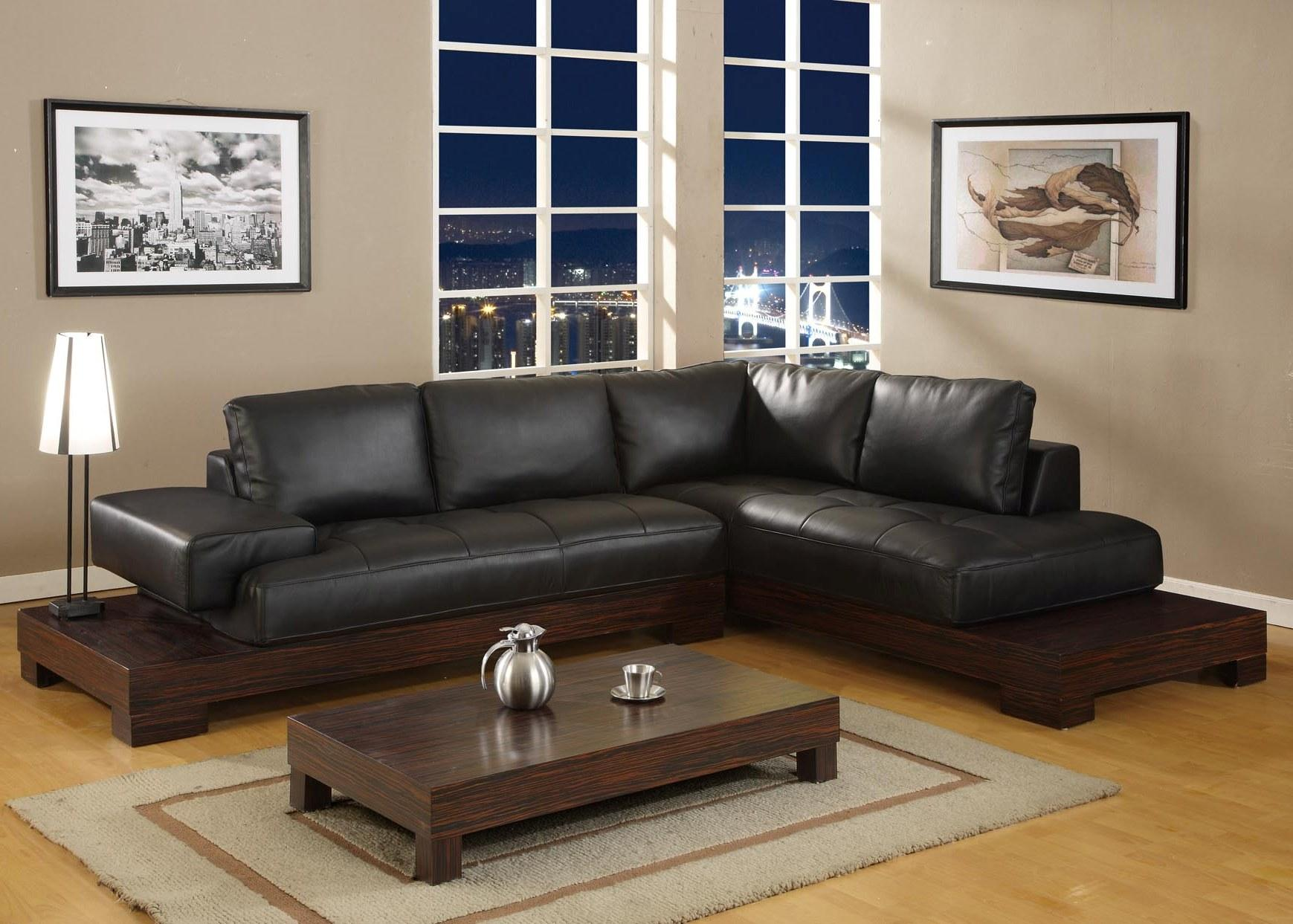 black furniture living room ideas | homesfeed