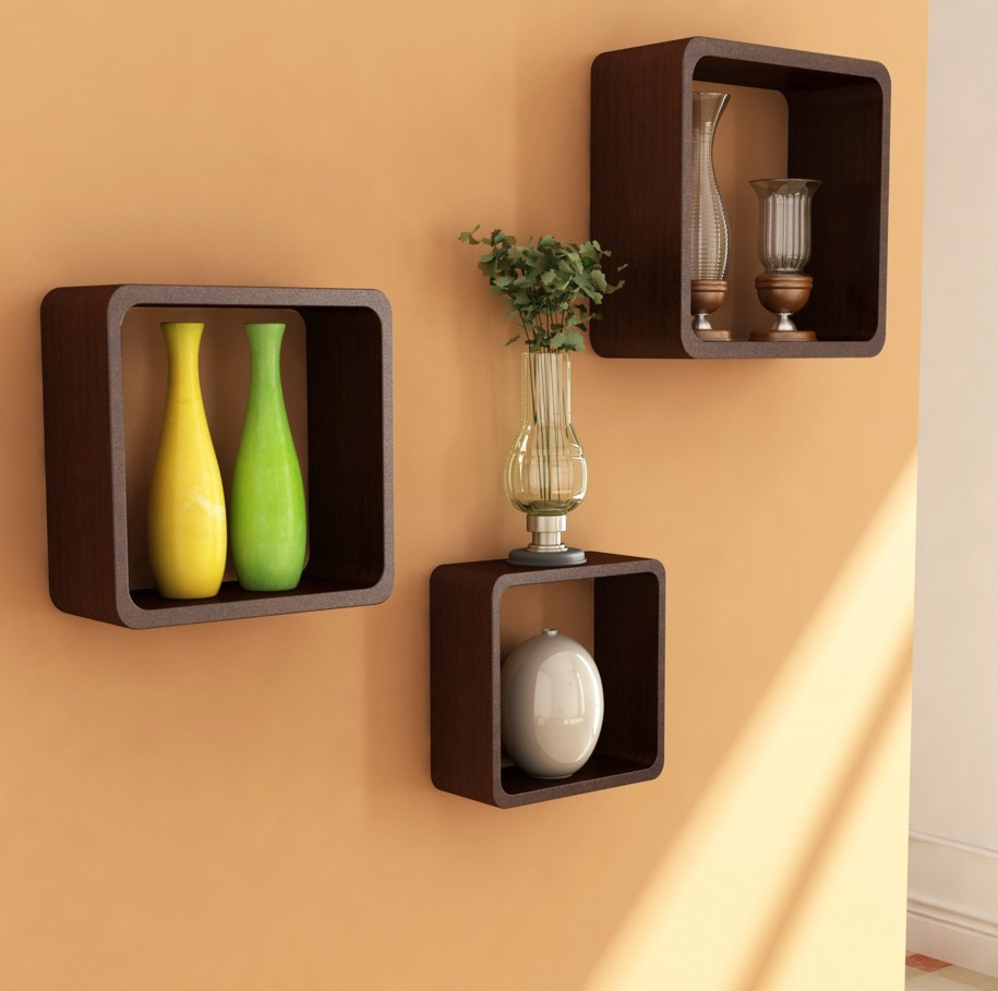 Floating shelves lowes fits to minimalist interior design for Minimalist household items