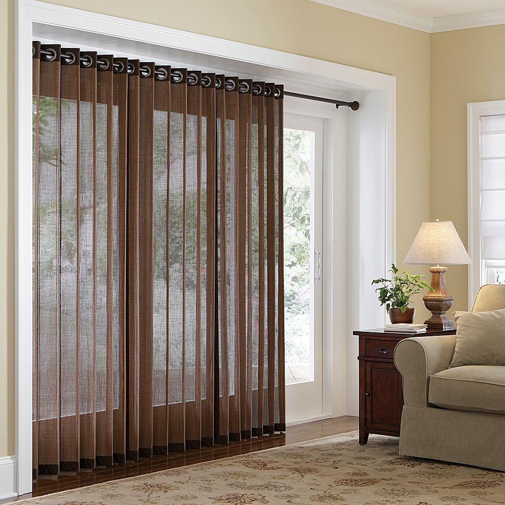 Tips for Window Covering for Sliding Glass Door | HomesFeed