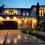 build my dream house with modern house design with stunning wooden garage car and beautiful garden