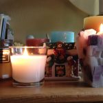 Candles Table Books Jar