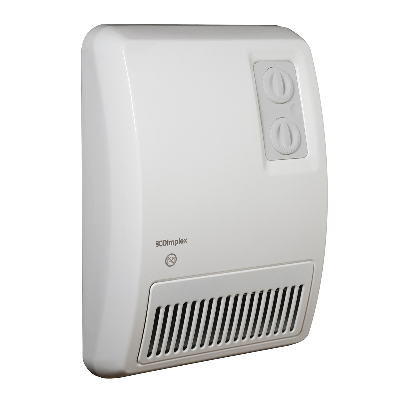 Space heater bathroom - Cdimplex Wall Mount Space Heater In White With Double Controller