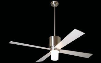 ceiling fan lamp steel