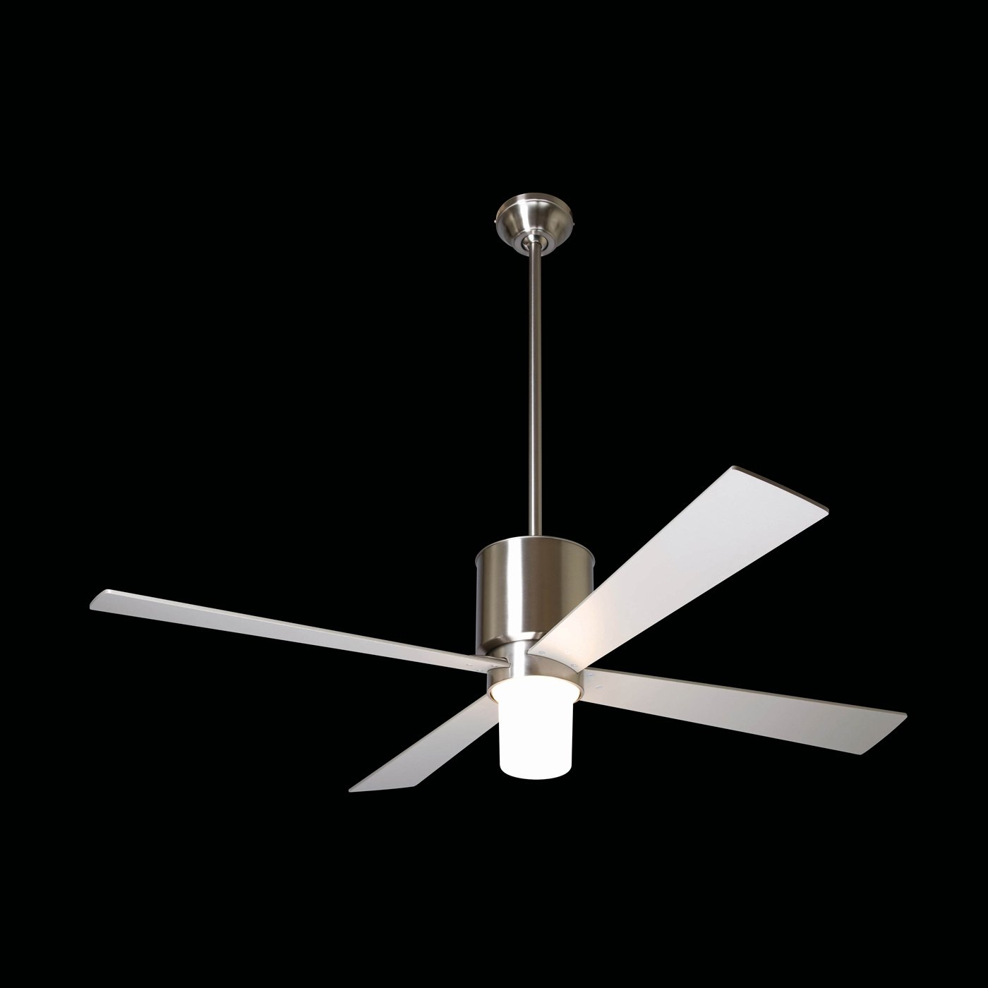 Contemporary ceiling fans with light homesfeed ceiling fan lamp steel aloadofball Images
