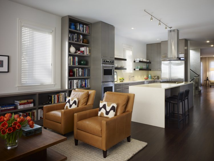 Kitchen living room combo ideas homesfeed for Ambientacion living comedor