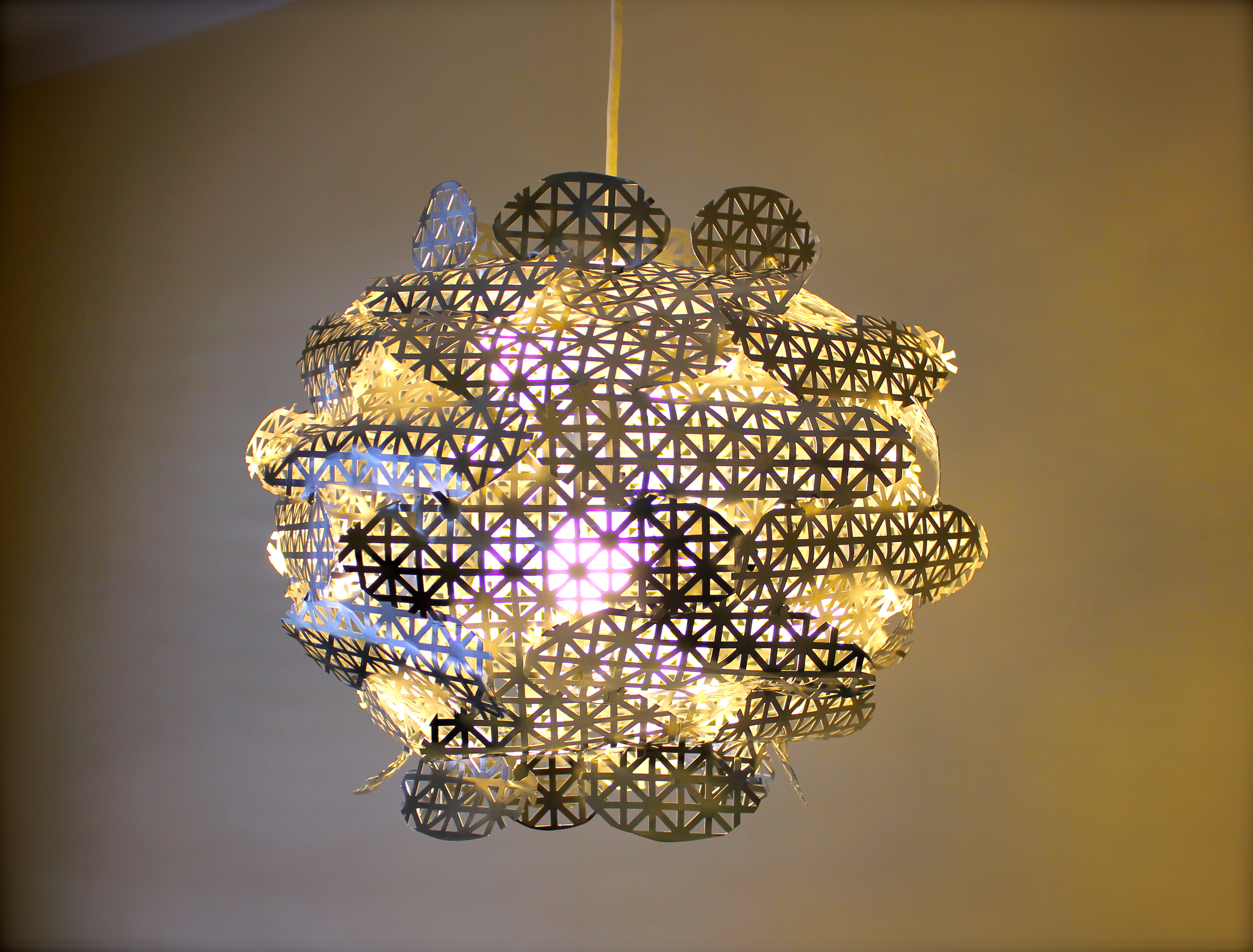 Chandelier Light Covers Ideas