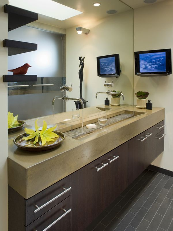 Double Faucet Sink - Home Design Ideas and Pictures