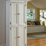 classic vertical white decorative file cabinets with decorativeflower wooden floor