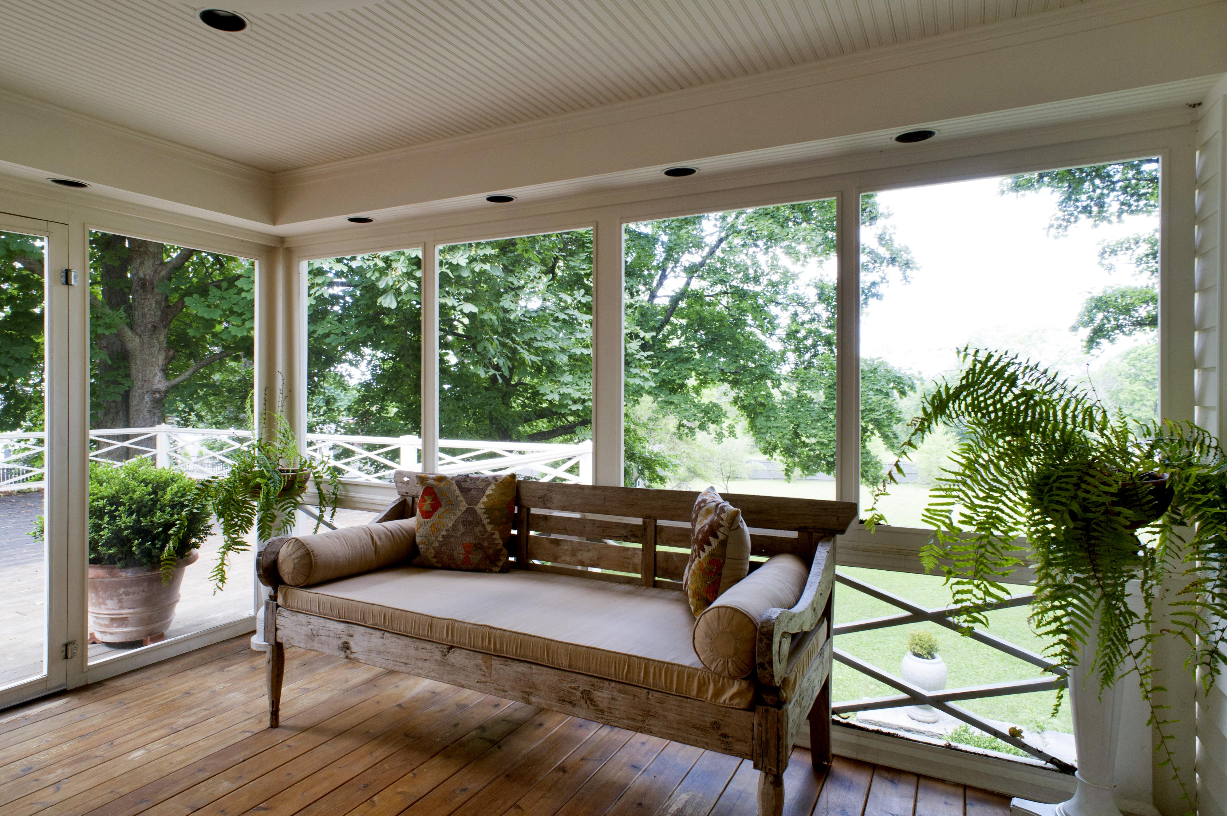 Glassed In Porch One Year Round Solution Homesfeed