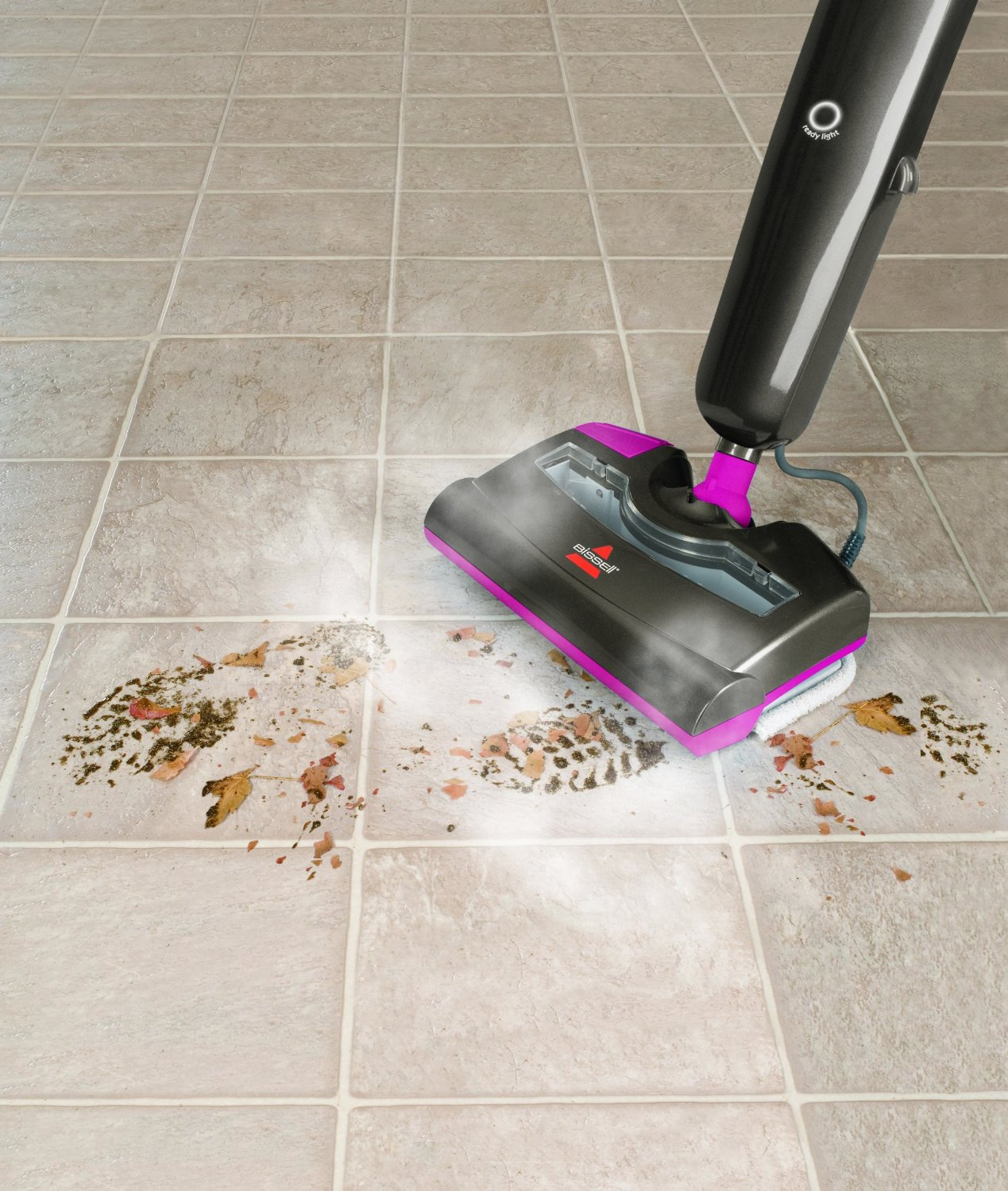 Cleaning Ceramic Tile Floors By Vacuuming Stylish Black Purple Vacuum