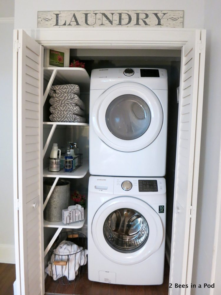 Small stackable washer dryer combo homesfeed for Tiny house stackable washer dryer