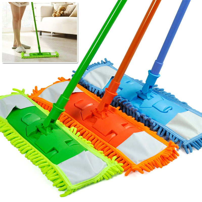 Some Chic Dust Mop Design That Is Perfect For Wood Floor