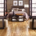 cool bedroom ideas with engineered hardwood flooring pros and cons decorated with comfy divan bed with brown and white bedding plus standing floor