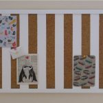 cool cork boards and cork bulletin board in brown and white frame beautified with some pictures