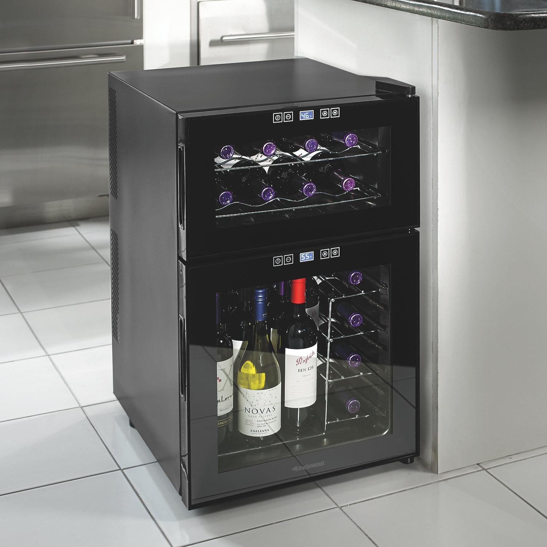 Dual Temp Wine Cooler Homesfeed