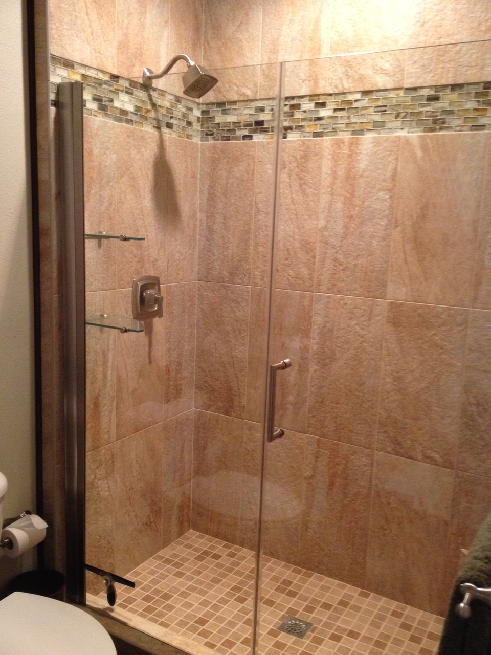 Shower Floor Tiles Which Why And How: Eco-friendly Cork Flooring In Bathroom