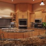 countertop material options for wood kitchens set