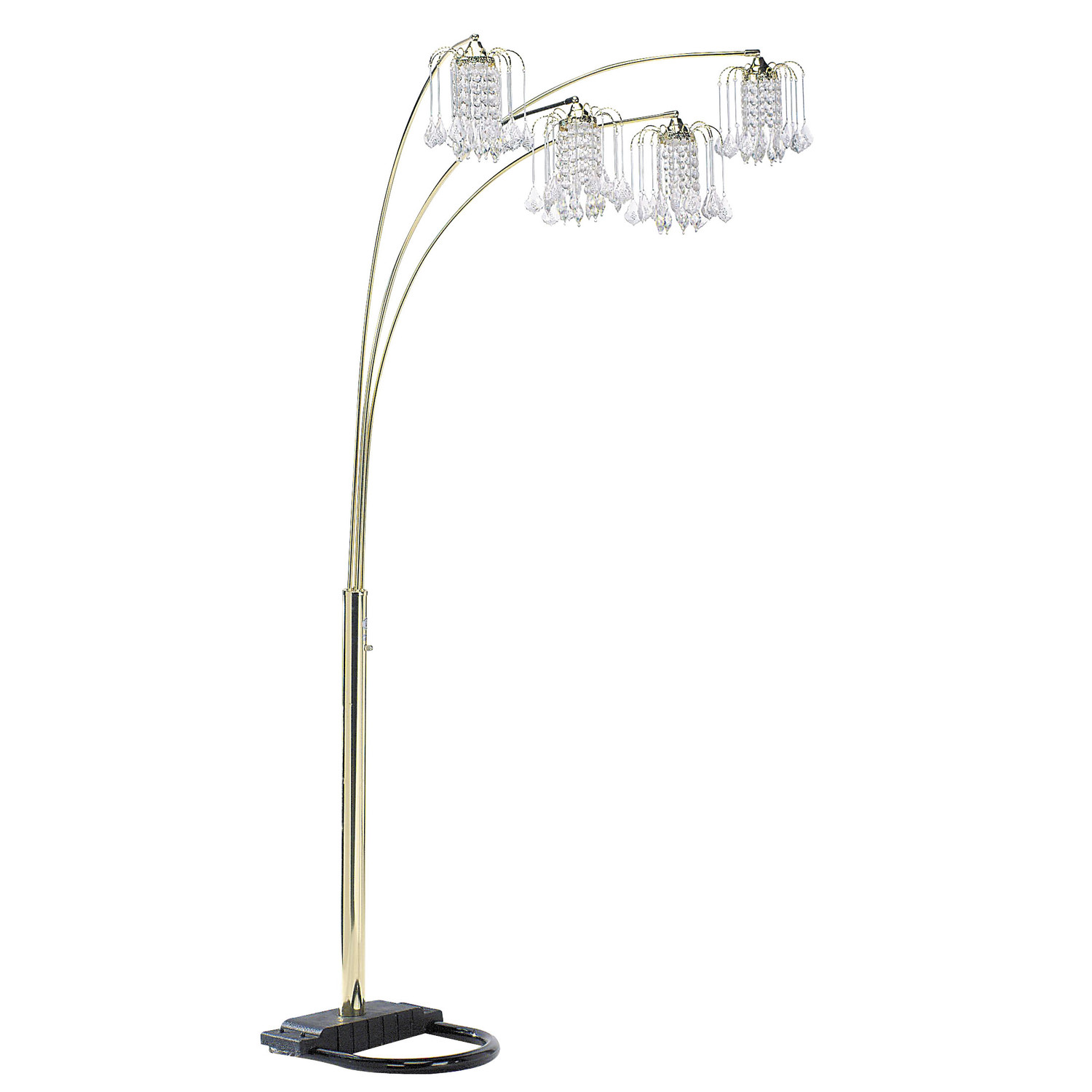 magnificent multi bulb floor lamp homesfeed. Black Bedroom Furniture Sets. Home Design Ideas