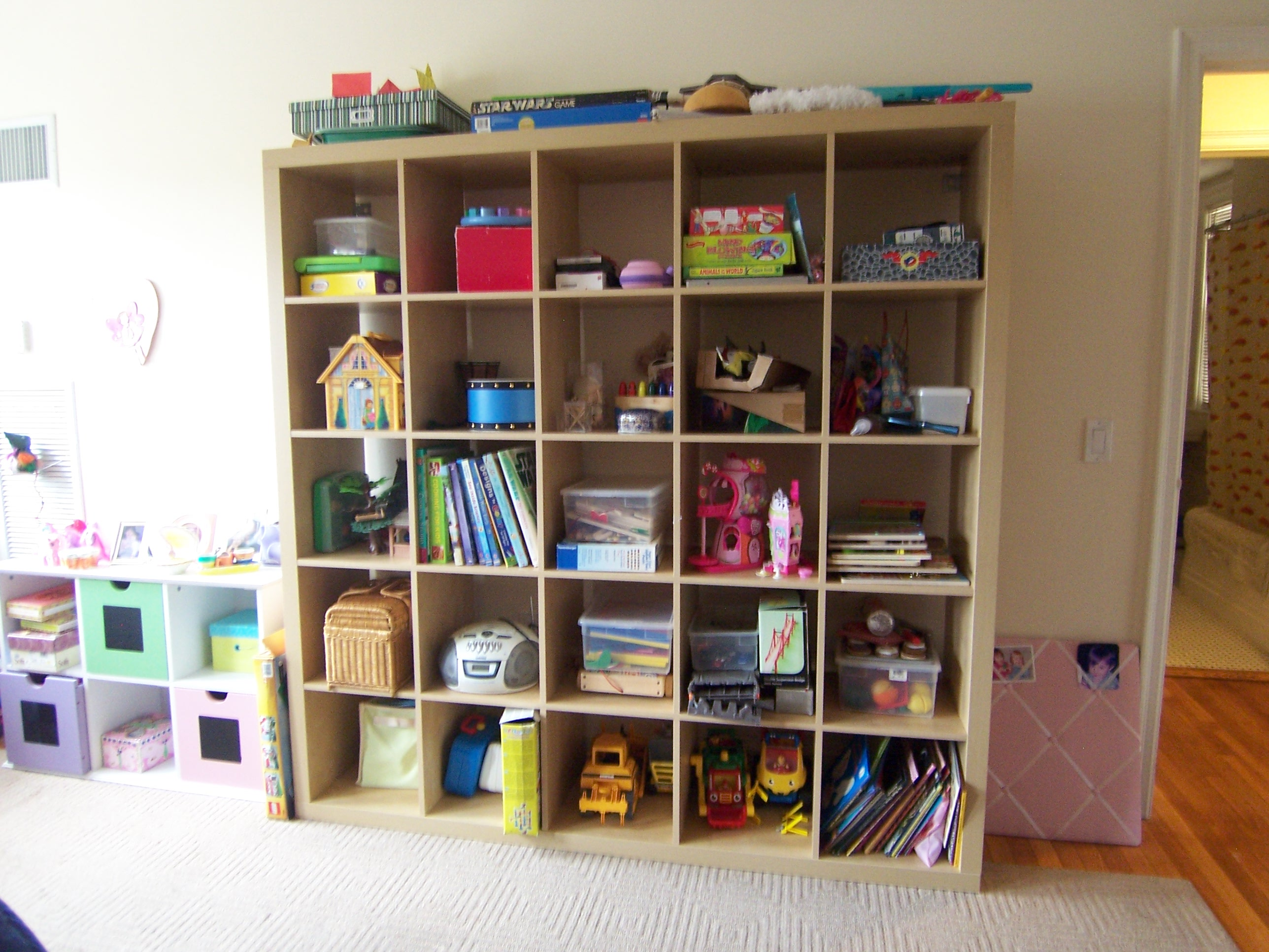 Expedit storage bins homesfeed for Toy and book storage