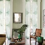 curtains windows pic table chair sofa vases books