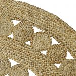 decorative jute rug