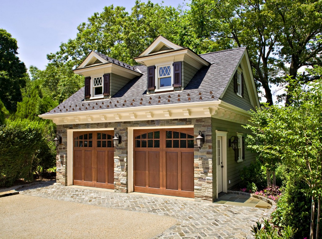 Independent and simplified life with garage plans with for Garage home designs