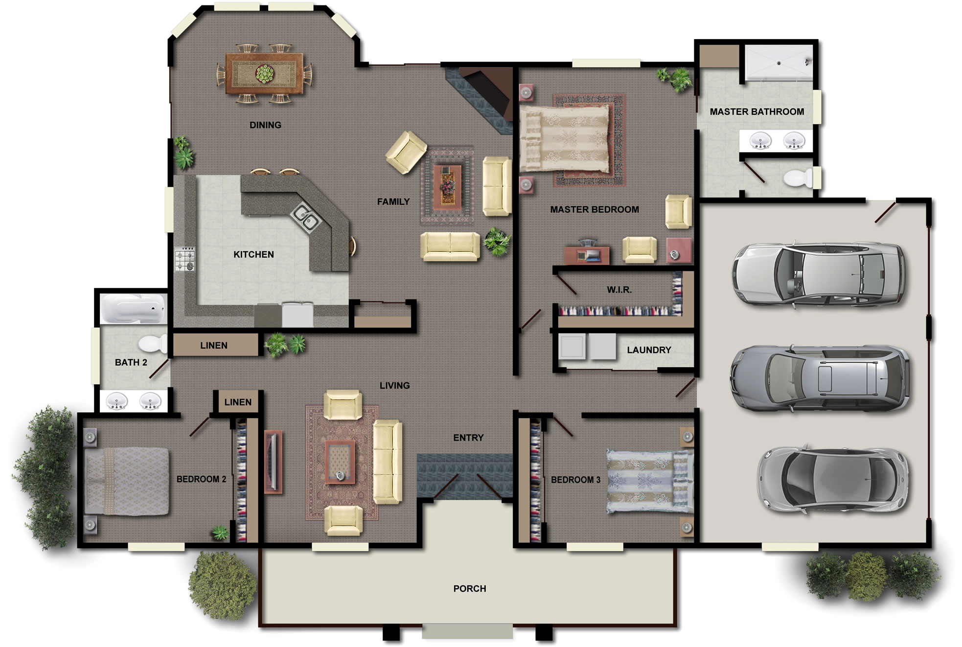 House plans with safe rooms homesfeed for Floor plans with safe rooms