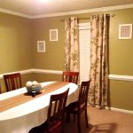 dining room table cloth chairs curtains