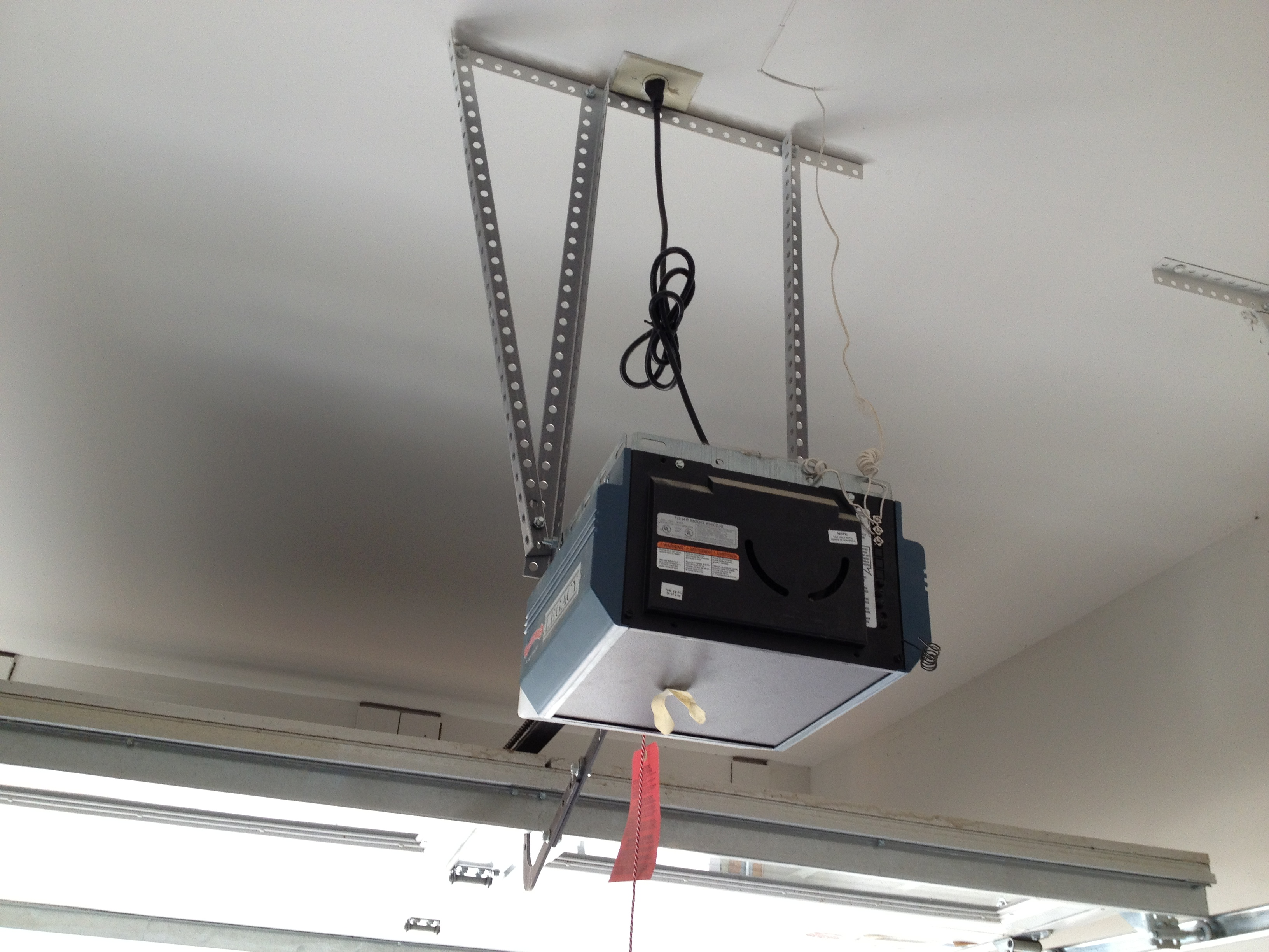 Low Profile Garage Door Opener Homesfeed