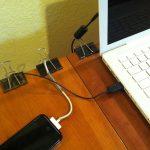 Easy Cord Management Ideas Black Binder Clip Cord Holders Table Edge Cord Holders  Black White Gadgets