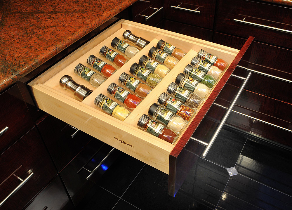 In Drawer Spice Racks Ideas for High fortable Cooking