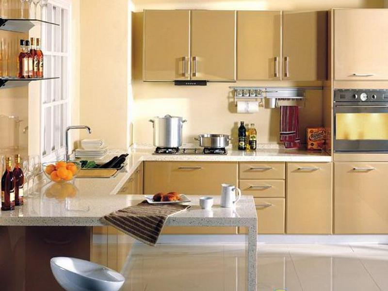 Simple Kitchen Ideas For Small Spaces some paint color for kitchen ideas to change the outlook | homesfeed