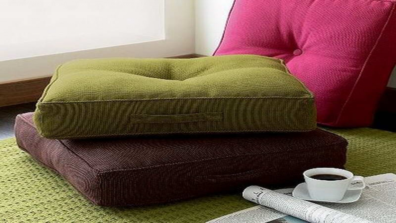Green Floor Pillows : Floor Pillows Ikea Adorn Interior with Exotic Asian Style HomesFeed