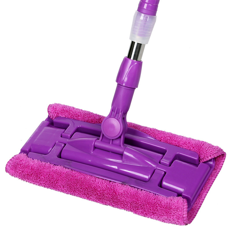 Elegant Purple Dust Mop For Wood Floor Idea With Purple Metal Stick