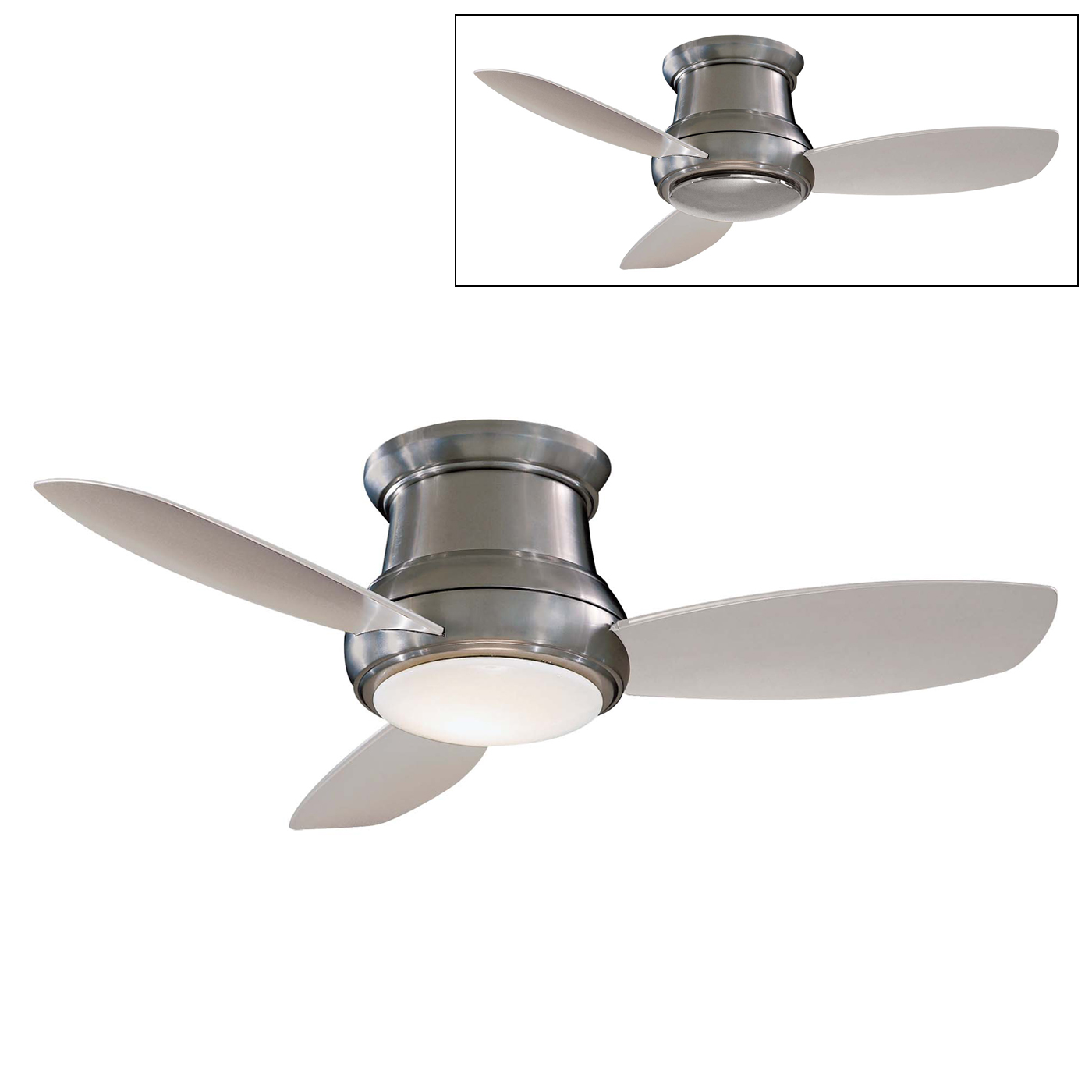 Contemporary Ceiling Fans With Light HomesFeed - White kitchen ceiling fan with light