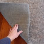 felt & natural rubber rug pads for hardwood floor red wooden floor