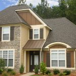 fiber cement siding for home stone combination home siding simple modern house design soothing natural color house