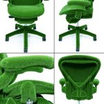 fresh and modern green herman miller aeron chair parts idea with soft backrest and seating and armrests with five spider legs