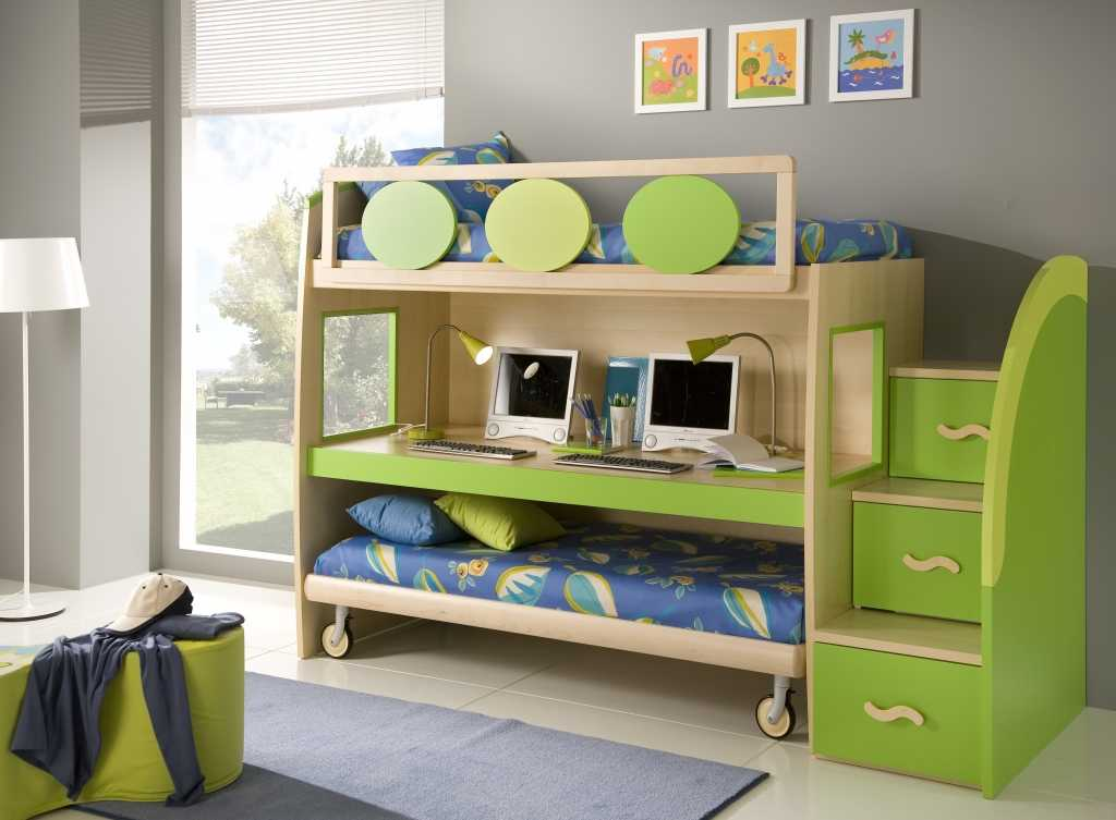 Kids Small Room Ideas kids beds small spaces - interior design