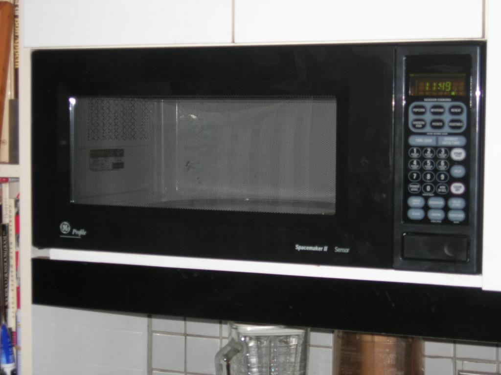 Ge Profile Spacemaker Convection Microwave Oven