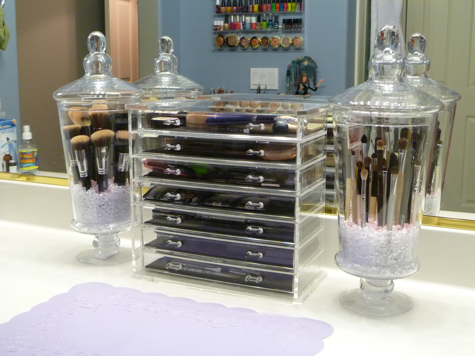 Gorgeous Diy Makeup Organizing Idea