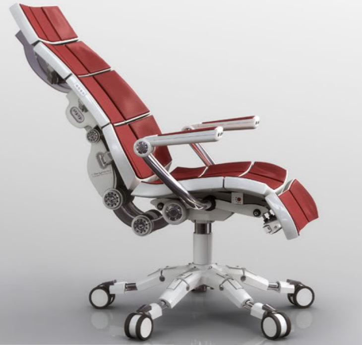Leave Space for Aeron Chair Adjustment for Comfortable Working